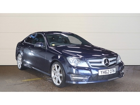 Mercedes-Benz 2.1 C250 CDI BlueEFFICIENCY AMG Sport Coupe 2dr Diesel Automatic (139 g/km, 201 bhp)