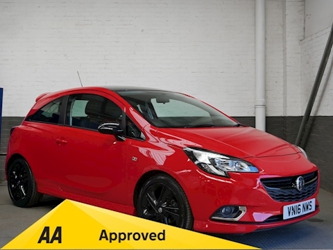 Vauxhall Corsa 1.4i ecoFLEX Limited Edition 3dr 1.4 3dr Hatchback Manual Petrol