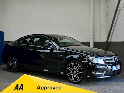 Mercedes-Benz C Class 1.6 C180 BlueEFFICIENCY AMG Sport Plus 7G-Tronic Plus 2dr