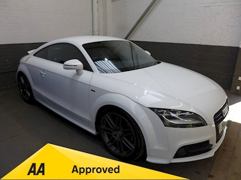 Audi Tt Tt S Line Black Edition T Coupe 2.0 Manual Petrol