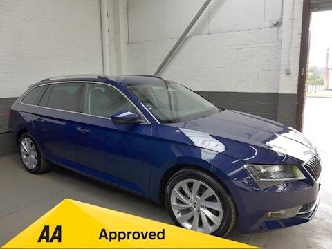 Skoda Superb Se L Executive Tdi Estate 2.0 Manual Diesel