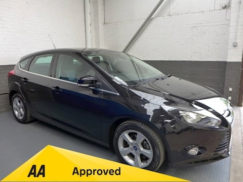 Ford Focus Zetec Navigator Econetic Tdci Hatchback 1.6 Manual Diesel