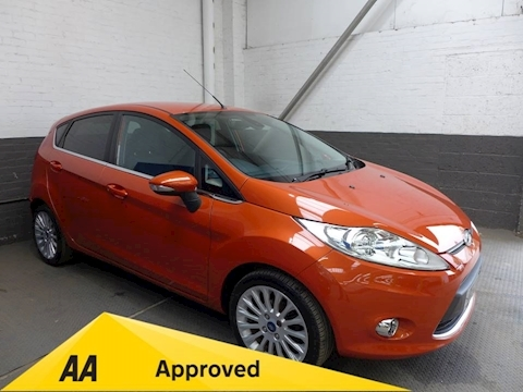 Ford Fiesta Titanium Hatchback 1.4 Manual Petrol
