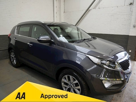 Kia Sportage Crdi Axis Edition Isg Estate 1.7 Manual Diesel