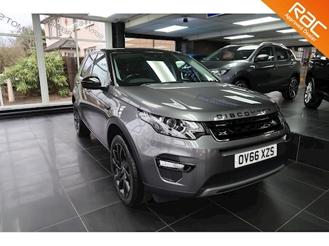 Land Rover Discovery Sport Td4 Hse Black Estate 2.0 Automatic Diesel