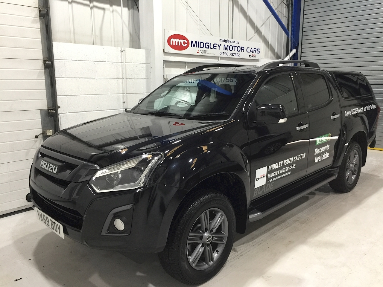 Isuzu D-Max Blade Dcb Pick Up 1.9 Manual Diesel