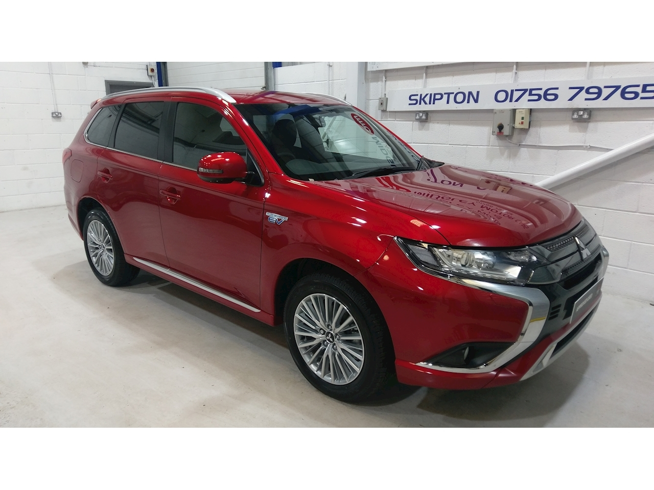 Mitsubishi Outlander Dynamic PHEV Auto 2.2 Estate CVT Petrol/Electric