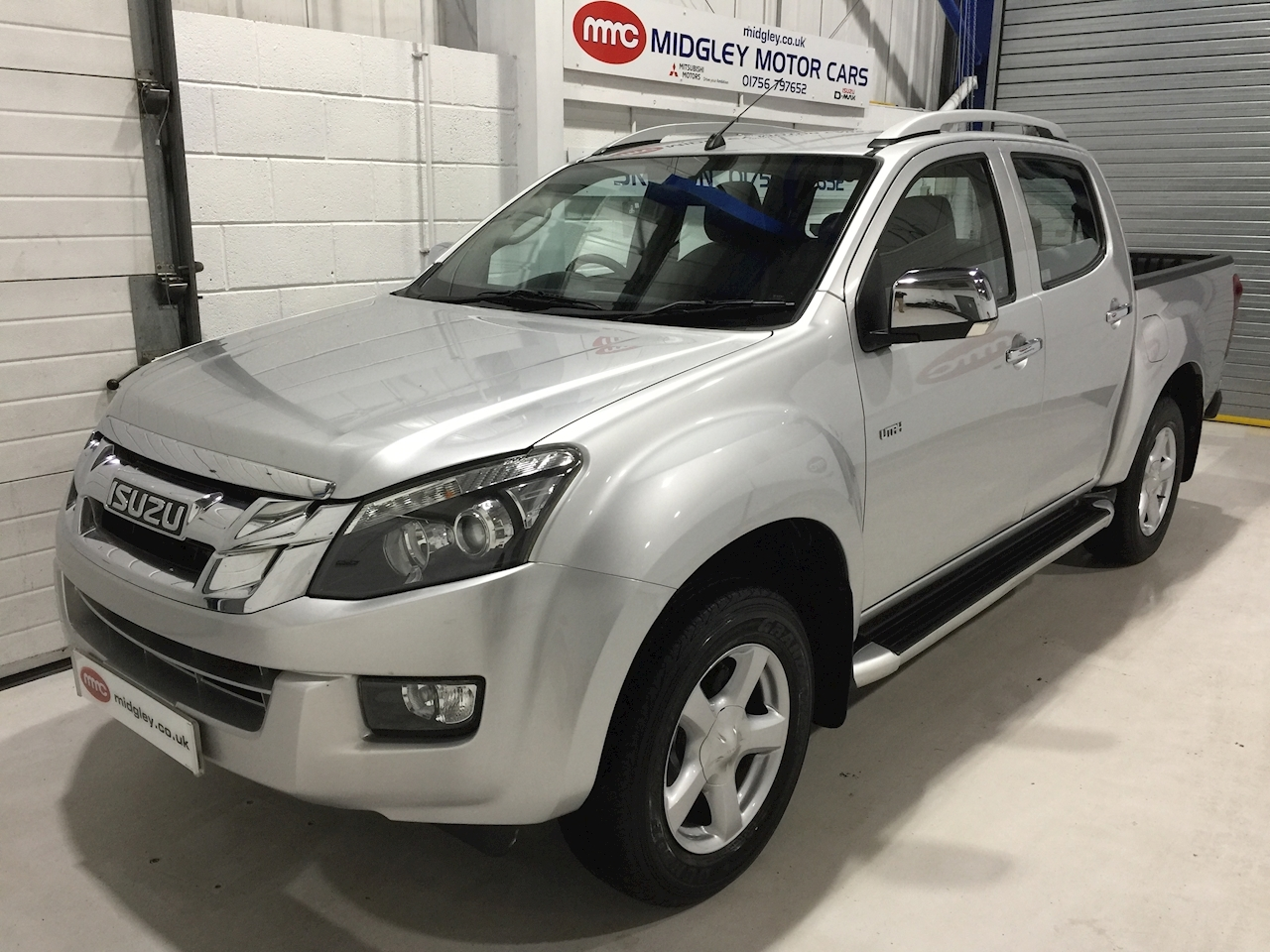 Isuzu D-Max Utah 2.5 4dr Double Cab Pickup Manual Diesel