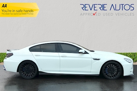 M6 Gran Coupe 4.4 Gran Coupe M DCT 4dr 4.4 4dr Sports Semi-Automatic Petrol