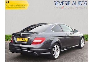C Class C180 Blueefficiency Amg Sport 1.8 2dr Coupe Automatic Petrol