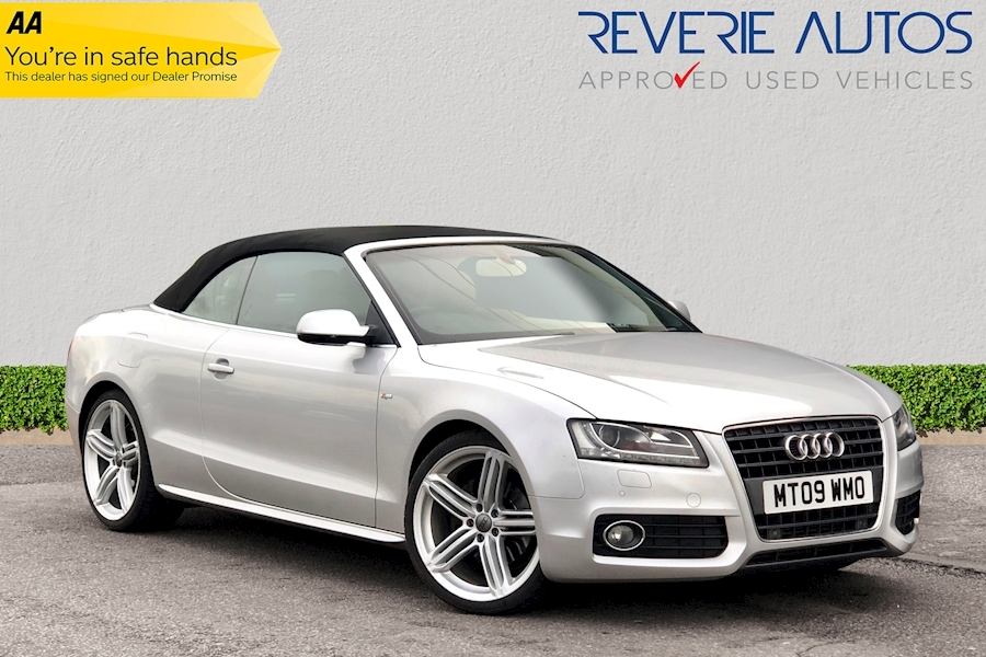 A5 Tfsi S Line Convertible 2.0 Manual Petrol