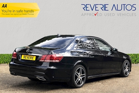 E Class E350 Bluetec Amg Night Edition 3.0 4dr Saloon Automatic Diesel