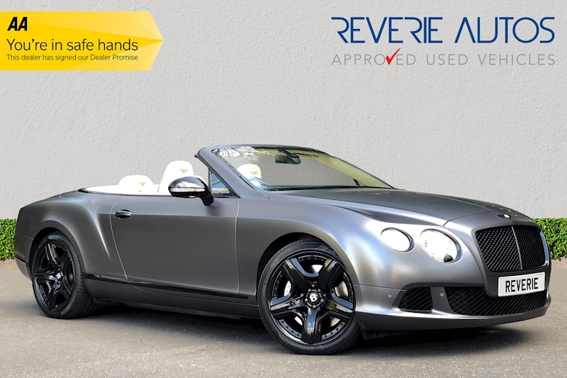 Continental Gtc Convertible 6.0 Automatic Petrol/Alcohol