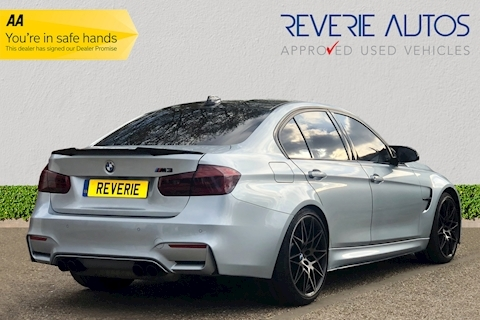 M3 M3 Competition Package 3.0 4dr Sports Semi Auto Petrol