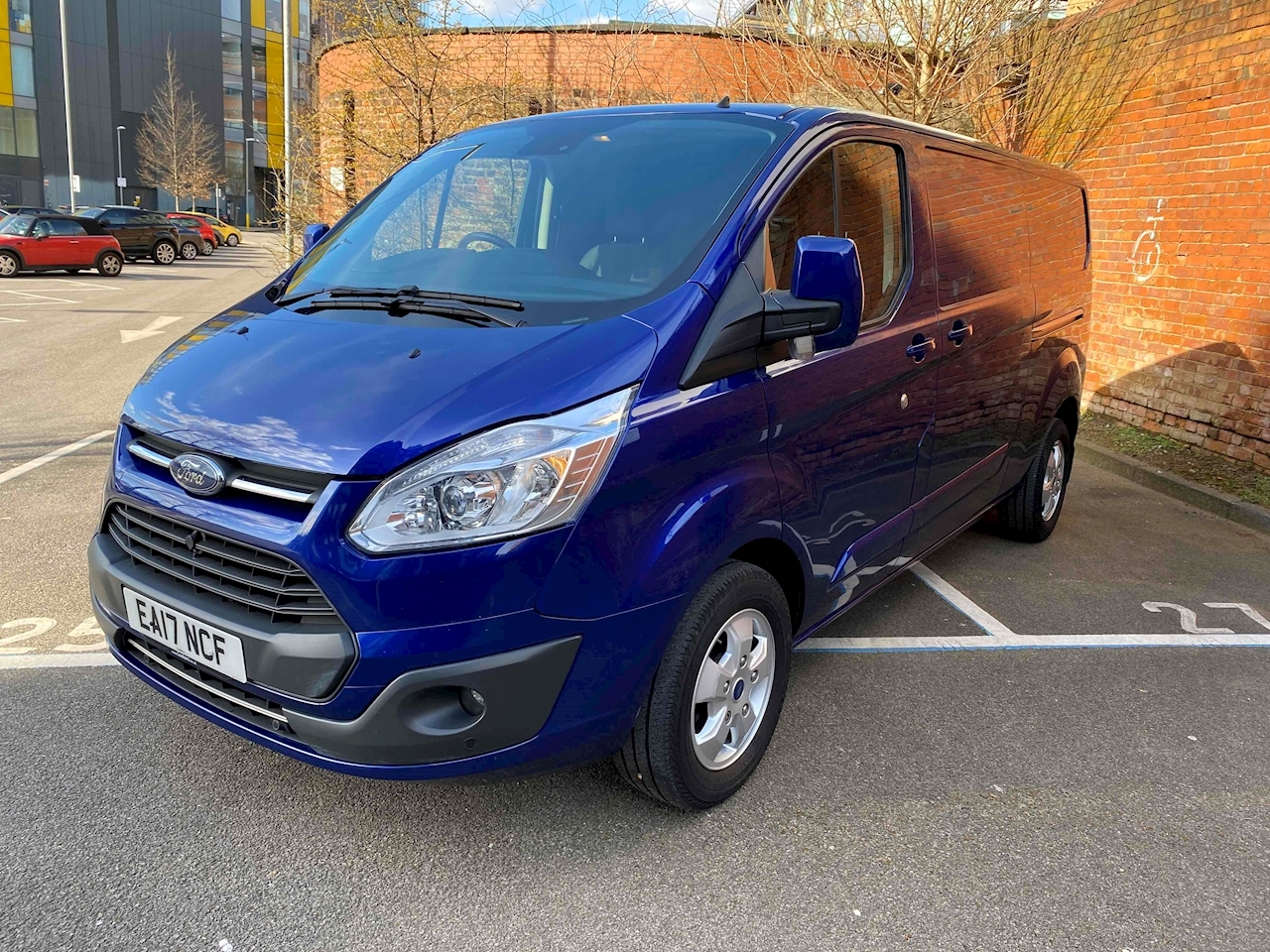 Transit Custom 290 Limited Lr Dcb Panel Van 2.0 Manual Diesel