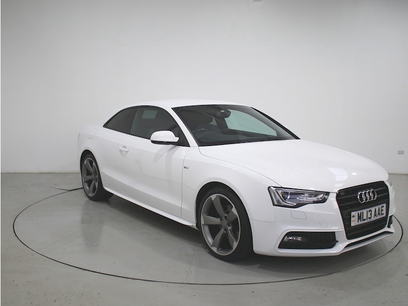 A5 S Line Black Edition A5 S LINE BLACK EDITION T Coupe 2.0 Manual Diesel