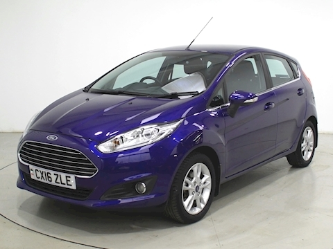 Fiesta Zetec Hatchback 1.0 Manual Petrol