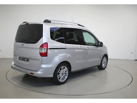 Tourneo Courier Titanium Tdci Mpv 1.5 Manual Diesel