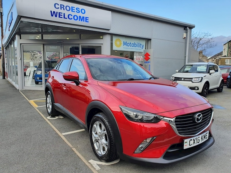 Cx-3 Se-L Nav Hatchback 2.0 Manual Petrol