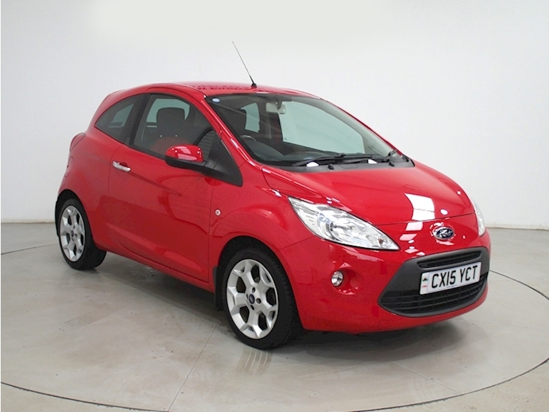 Ka  Hatchback 1.2 Manual Petrol