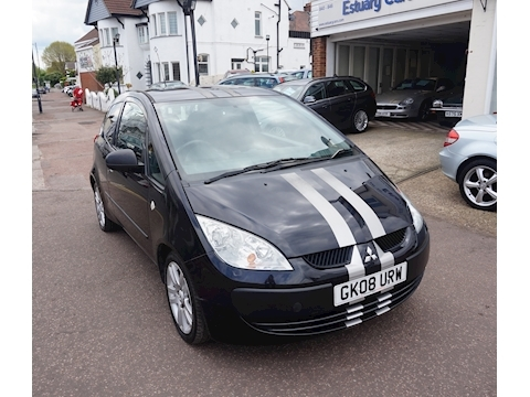 Mitsubishi Colt Black Hawk Cz1 Hatchback 1.1 Manual Petrol