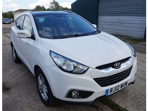 Hyundai Ix35 Crdi Premium Estate 1.7 Manual Diesel