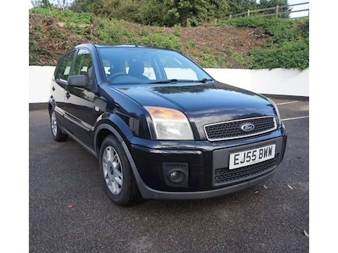 Ford Fusion Zetec Climate Hatchback 1.6 Automatic Petrol