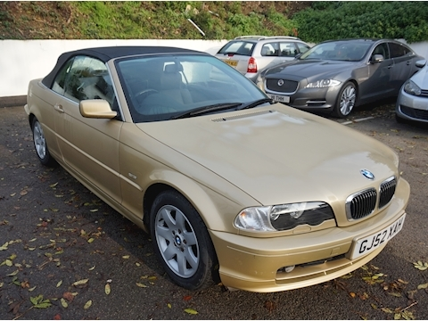 BMW 3 Series 325Ci Ssg 2.5 2dr Convertible Manual Petrol