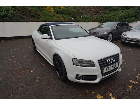 Audi A5 Tdi S Line Convertible 2.0 Manual Diesel