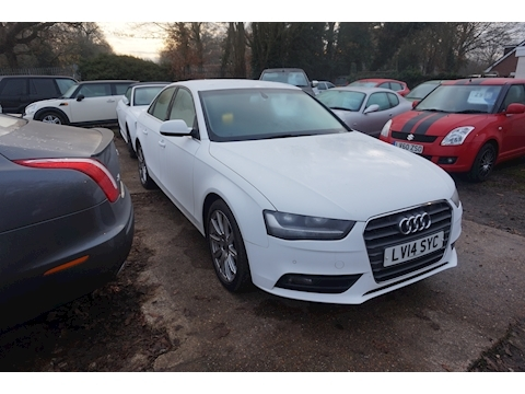 Audi A4 Tfsi Se Technik Saloon 1.8 Manual Petrol