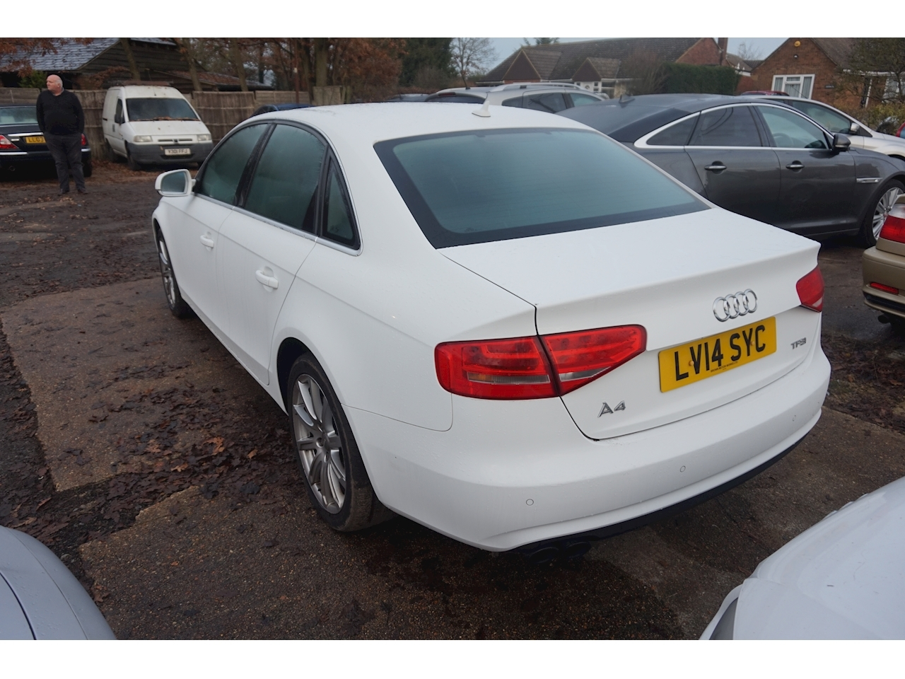 A4 Tfsi Se Technik Saloon 1.8 Manual Petrol