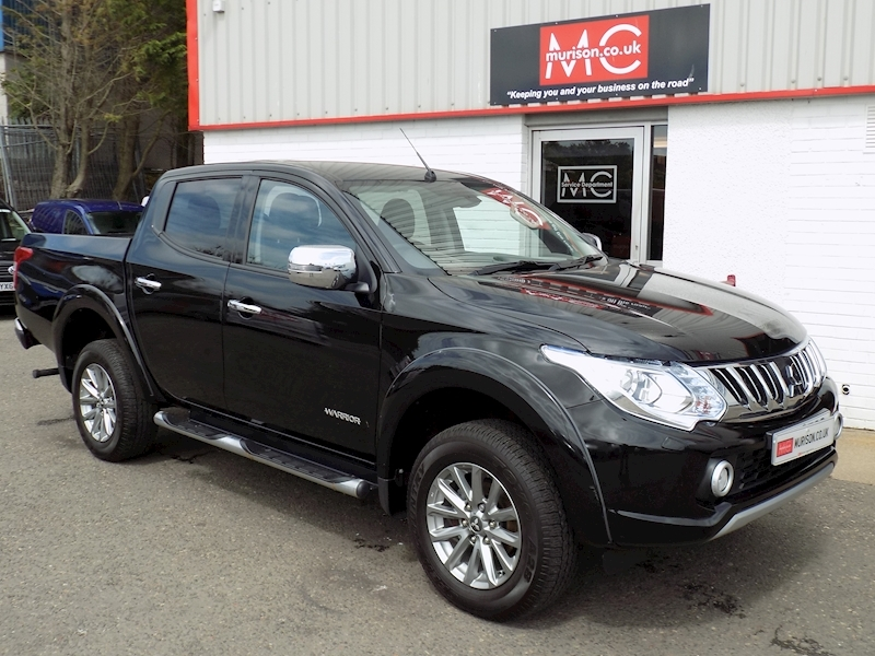 L200 2.5 DI-D (180) Warrior 2.5 4dr 4x4 Manual or Auto Diesel