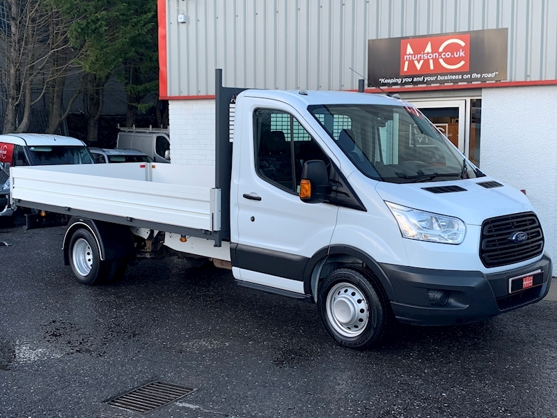 Transit 350 2.2 TDCi (125) L4 14ft 2.2 2dr Dropside Manual Diesel