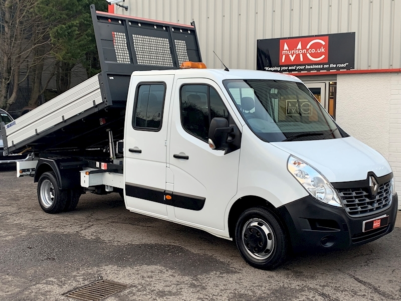 Master LL35 Business 2.3 DCi (125) L3 D/Cab Tipper 2.3 4dr Tipper Manual Diesel