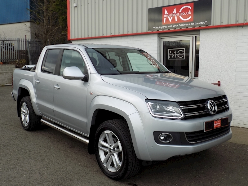 Amarok Highline 2.0 BiTDi (180) 4Motion 2.0 4dr Pick-Up Automatic Diesel