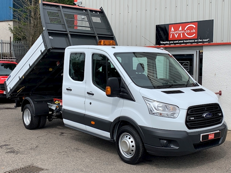 Transit 350 2.2 TDCi (125) L3 Crewcab Tipper 2.2 4dr Tipper Manual Diesel