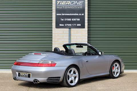 911  996 CARRERA 4S TIP S Convertible 3.6 Automatic Petrol