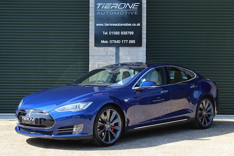 Tesla Model S P90d AWD - Large 0
