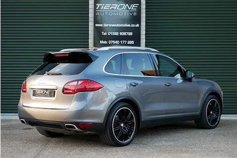 Cayenne D V8 Turbo Tiptronic S Estate 4.2 Automatic Diesel
