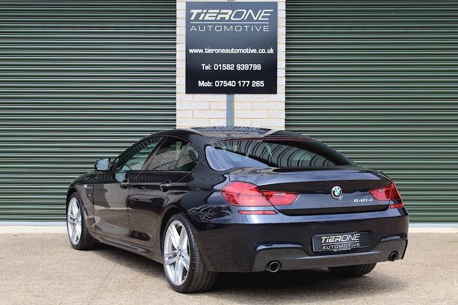 BMW 6 Series 640D M Sport Gran Coupe - Large 2