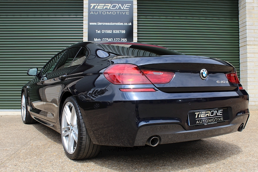 BMW 6 Series 640D M Sport Gran Coupe - Large 37