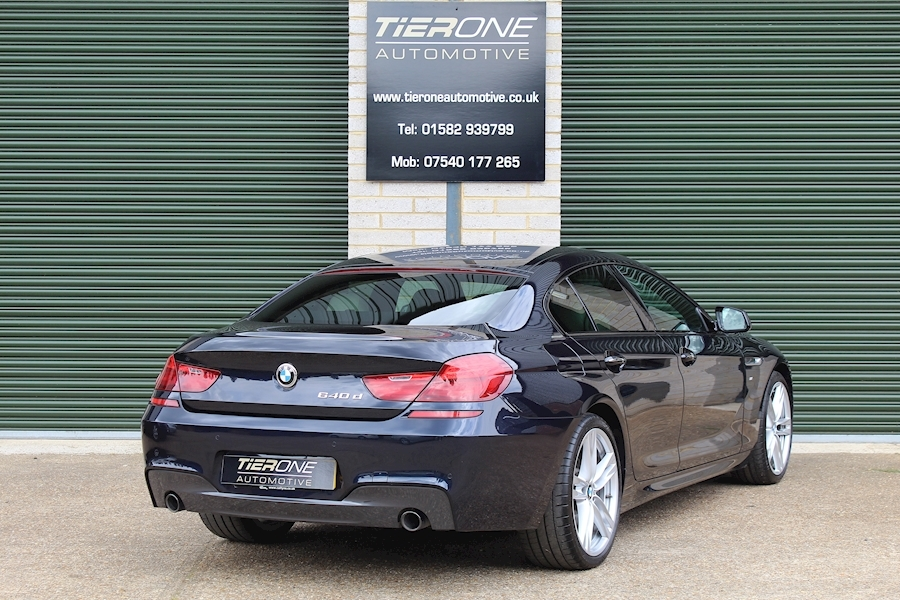 BMW 6 Series 640D M Sport Gran Coupe - Large 3