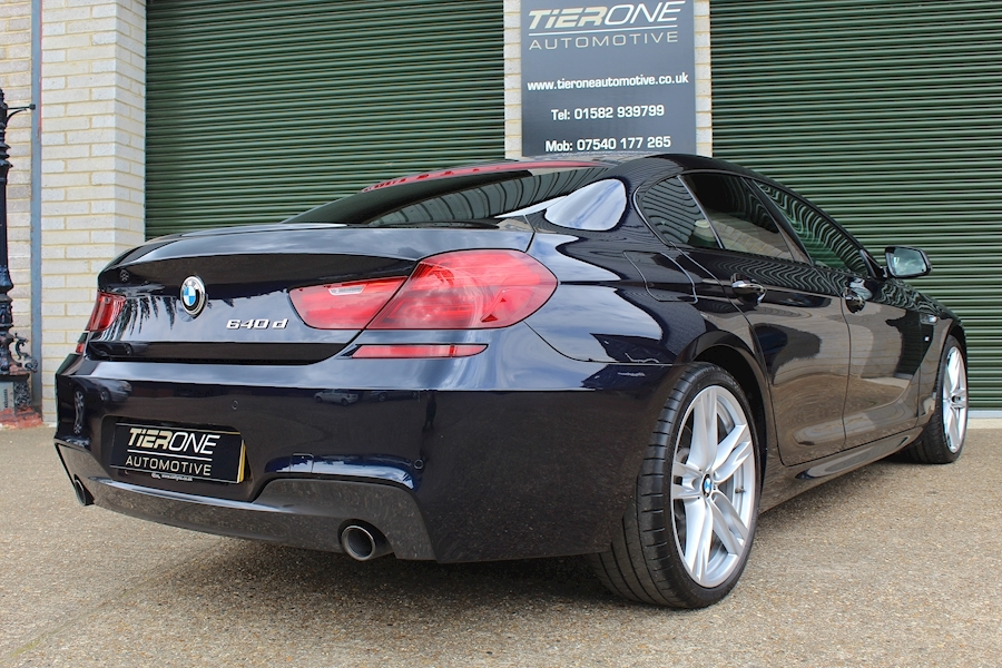 BMW 6 Series 640D M Sport Gran Coupe - Large 38