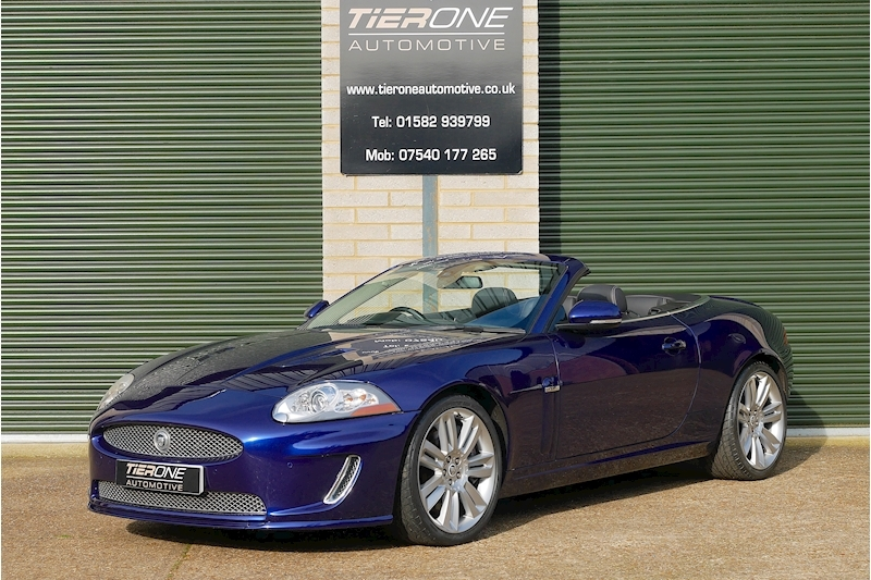 XKR Supercharged  Convertible 5.0 Automatic Petrol