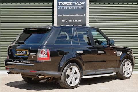 Range Rover Sport V8 S/C HSE Estate 5.0 Automatic Petrol