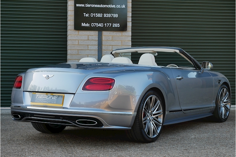 Bentley Continental Gtc Speed - Large 39