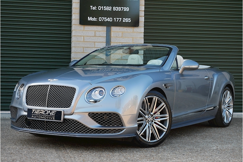 Bentley Continental Gtc Speed - Large 54