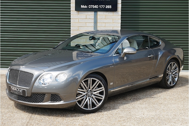 Bentley Continental GT Speed - Large 37