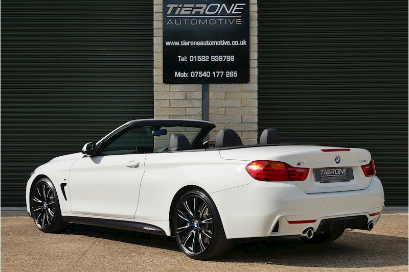 BMW 4 Series 435i M Sport Convertible - Large 8