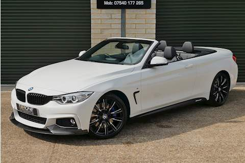 BMW 4 Series 435i M Sport Convertible - Large 37
